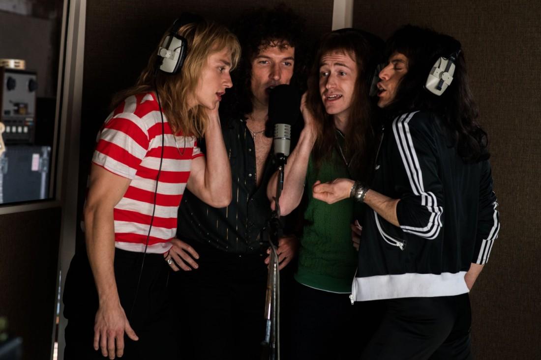 Queen-band-actors-ben-hardy-gwilym-lee-joe-mazzello-rami-malek-BOHEMIAN-RHAPSODY-1400x933